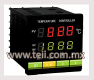 Controles digitales de temperatura